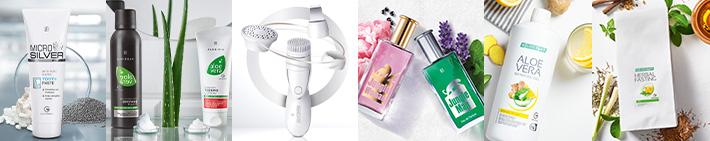 Pflege- und Gesundheitsprodukten von LR Health & Beauty